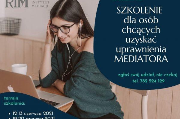 mediacja szkolenie dla mediatoów